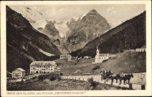 Ak Trafoi Südtirol, Hotel und Pension Zur schönen Aussicht