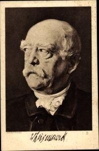 Künstler Ak Fürst Otto von Bismarck, Portrait