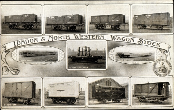 Ak London & North Western Railway, Wagon Stock, Güterwaggons