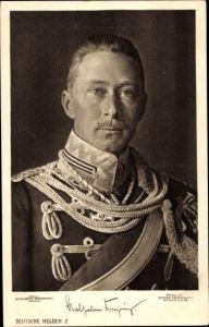 Ak Kronprinz Wilhelm von Preußen, Husarenuniform, Liersch