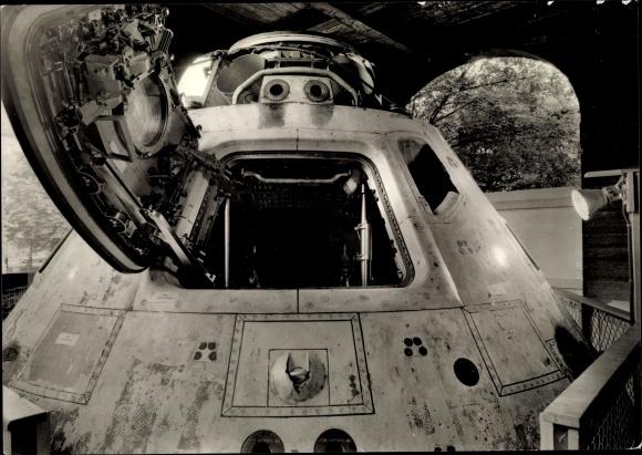 Ak München Bayern, Apollo 8 Raumkabine, Sonderschau Mensch und Weltraum, Dt. Museum München