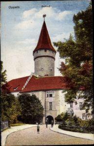 Ak Opole Oppeln Schlesien, Schloss