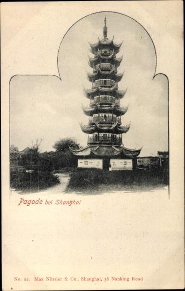 Ak Shanghai China, Pagode