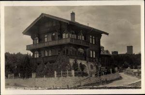 Ak Maloja Kt. Graubünden, Casa Segantini