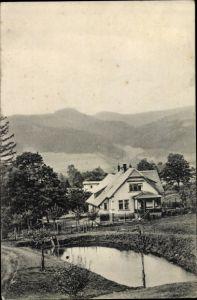 Ak Sokołowsko Görbersdorf Schlesien, Dr. Weicker's Heilanstalten, Villa Klause in Fuchswinkel