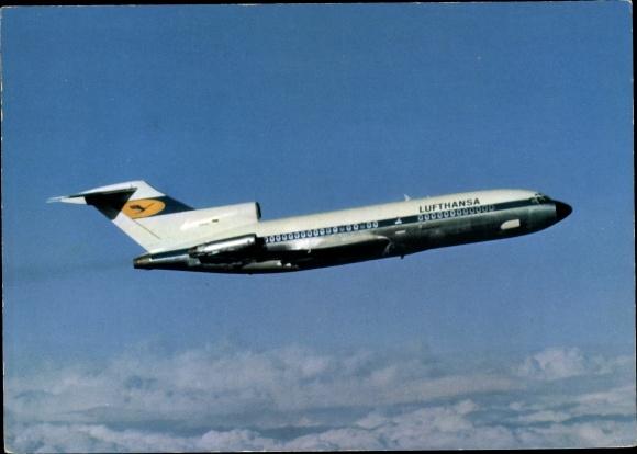 Ak Deutsches Passagierflugzeug, Lufthansa Europa Jet Boeing 727