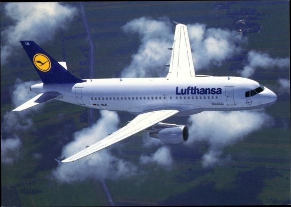 Ak Airbus A 319-100, Lufthansa, Passagierflugzeug, D-AILA