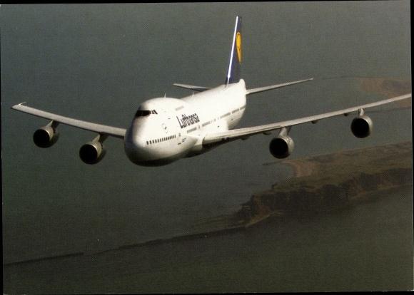 Ak Deutsches Passagierflugzeug, Lufthansa Boeing 747-200