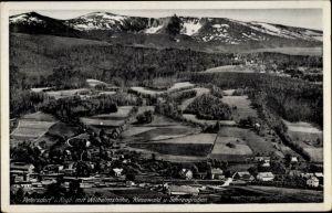 Ak Piechowice Petersdorf Riesengebirge Schlesien, Wilhelmshöhe, Schneegruben, Kiesewald