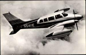 Ak Flugzeug Cessna Skynight, N5411E, zweimotorig, 5 Personen