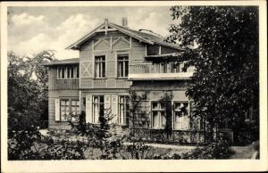 Ak Szczecin Stettin Pommern, Jugendherberge Stettin, Gartenstraße 5, Eigenheim Landesverb. Pommern