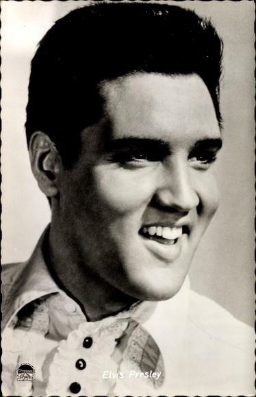 Ak Schauspieler und Musiker Elvis Presley, Portrait, Rock n Roll