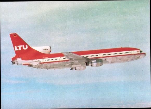 Ak Deutsches Passagierflugzeug, LTU Lockheed L-1011 TriStar