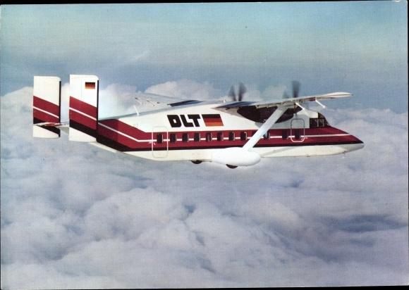Ak Commuter Passagierflugzeug DLT Shorts 330, 30 Passagiere