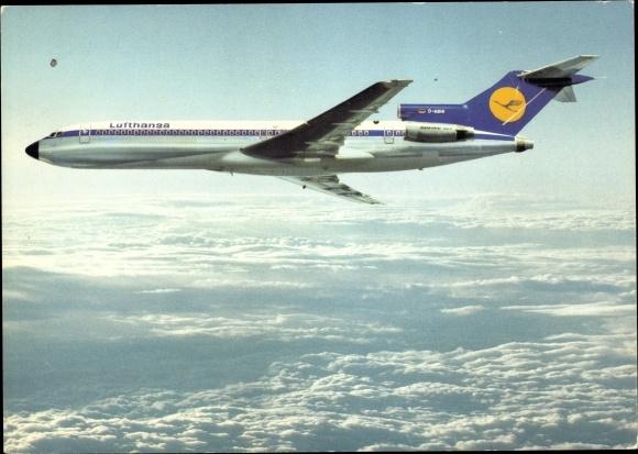 Ak Deutsches Passagierflugzeug, Lufthansa Boeing 727 Europa Jet