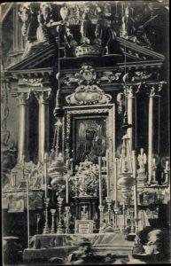 Ak Częstochowa Tschenstochau Schlesien, Oltarz z Cudownym Obrazem na Jasnej Górze