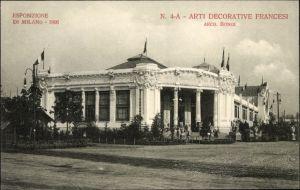 Ak Milano Mailand Lombardia, Esposizione 1906, Arti Decorative Francesi