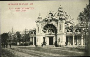 Ak Milano Mailand Lombardia, Esposizione 1906, Arti Decorative