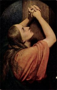 Künstler Ak Scheffer, Ary, Maria Magdalena, betende Frau, Degi 825