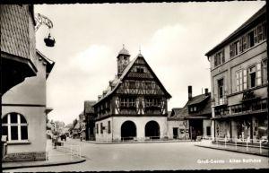 Ak groß Groß Gerau in Hessen, Altes Rathaus