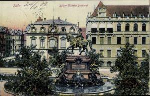 Ak Köln am Rhein, Kaiser Wilhelm I. Denkmal