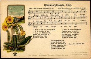 Lied Ak Günther, Anton, Himmlschlüssela blüh, Erzgebirgische Mundart No. 44