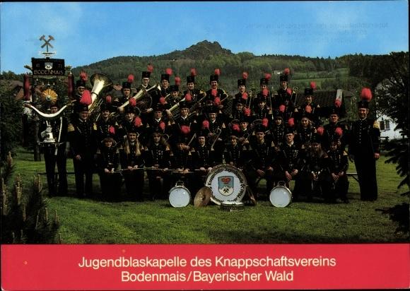 Ak Jugendblaskapelle des Knappschaftsvereins Bodenmais Bayrischer Wald