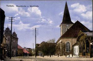 Ak Tukums Tuckum Lettland, Hauptkirche, Markthalle