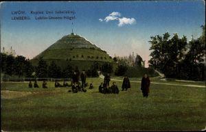Ak Lwów Lemberg Ukraine, Lublin Unions Hügel