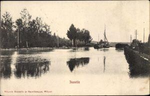 Ak Wyborg Wiborg Viipuri Russland, Juustila, Uferpartie