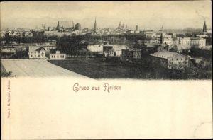 Ak Nysa Neisse Schlesien, Gesamtansicht der Stadt