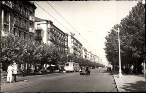 Ak Santander Kantabrien Spanien, Paseo de Pereda, Omnibus, Autos