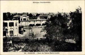 Ak Dakar Senegal, Africque Occidentale, Gare de Dakar Saint Louis