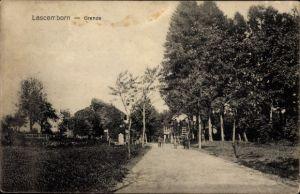 Ak Lascemborn Lafrimbolle Moselle, Deutsch Französische Grenze