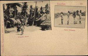 Ak Zanzibar Sansibar Tansania, N'Gambo Street, Native Prisoners