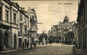 Ak Liepaja Libau Lettland, Kornstraße