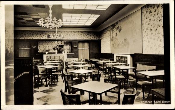 Ak Köln am Rhein, Konditorei Café Rudolf Riese, Schildergasse 103