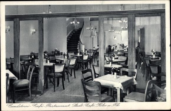 Ak Köln am Rhein, Konditorei Café Stadt Café, Schildergasse 20