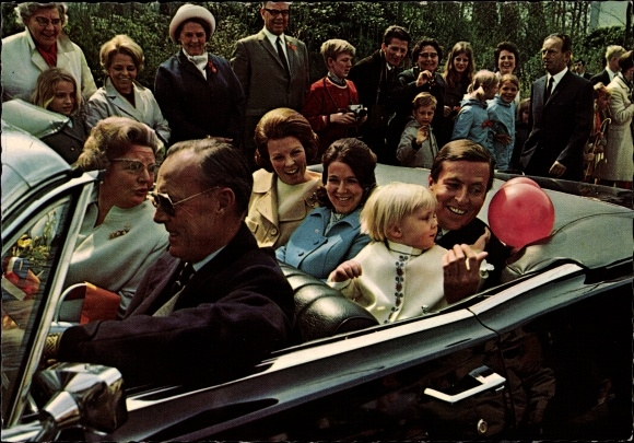 Ak Koninginnedag 30 april 1969, Königin Juliana der Niederlande, 60. Geburtstag, Beatrix