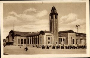 Ak Helsinki Helsingfors Südfinnland, Rautatienasema, Bahnhof
