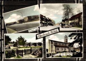 Ak Oberbruch Heinsberg Nordrhein Westfalen, Kath. Kirche, Kindergarten, Schule, Boos Fremery Straße