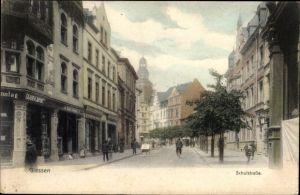 Ak Gießen an der Lahn Hessen, Schulstraße, Cigarren Import