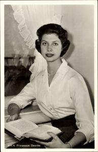 Ak HKH Prinzessin Desirée, Portrait, Tochter von Gustav Adolf Erbprinz von Schweden