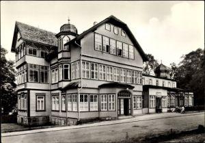 Ak Elend Oberharz am Brocken, FDGB Erholungsheim Waldmühle