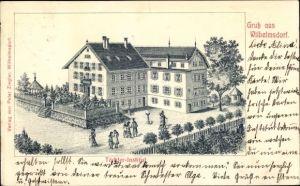 Litho Wilhelmsdorf im Kreis Ravensbrug Baden Württemberg, Töchterinstitut