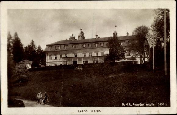 Ak Nové Město nad Metují Neustadt an der Mettau Region Königgrätz, Hotel