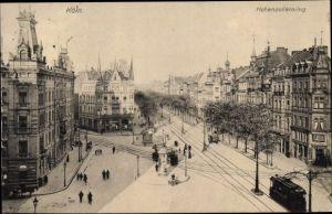 Ak Köln am Rhein, Blick auf den Hohenzollernring