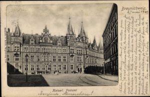 Ak Braunschweig in Niedersachsen, Kaiserliches Postamt