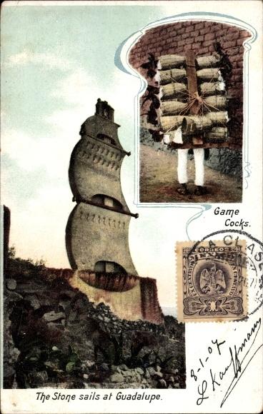 Ak Guadelupe Mexiko, The Stone Sails, Game Cocks, Hahnenkampf