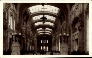 Ak Milano Mailand Lombardia, Nuova Stazione Centrale, Grande Salone, Hauptbahnhof, Innenansicht